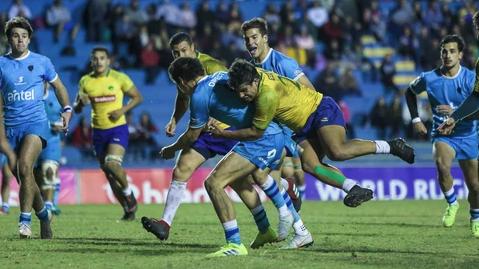 Brasil é superado pelo Uruguai em rodada que definiu os finalistas do World Rugby U20 Trophy