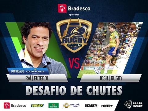 Brasil Rugby lança evento com desafios entre rugby e principais esportes do país