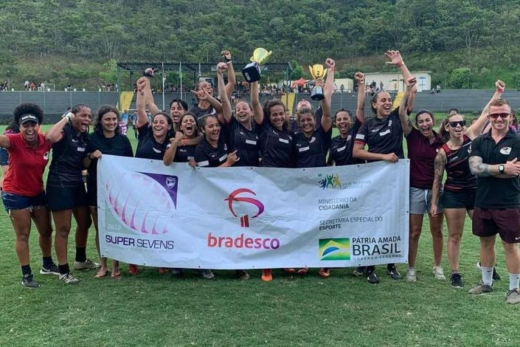Band Saracens é campeão brasileiro de rugby sevens feminino; SPAC vence na segunda divisão