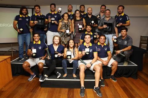 Brasil Rugby homenageia atletas que mais vestiram a camisa da Seleção Brasileira