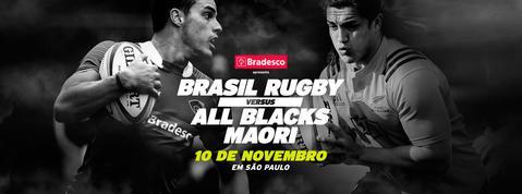 All Blacks Maori x Brasil, jogarão em novembro na cidade de São Paulo