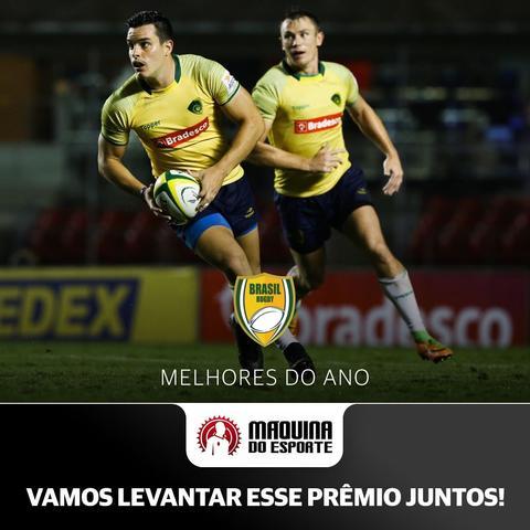 """Prêmio """"Melhores do Ano"""" anuncia finalistas e rugby concorre em duas categorias"""