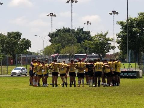 Seleção M20 masculina recebe clube argentino em preparação final para o Sul-Americano