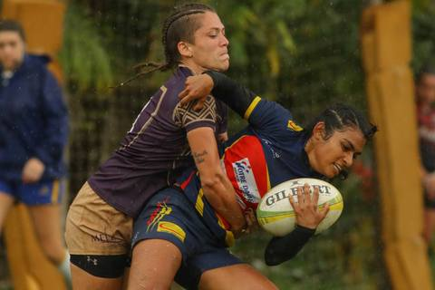 Niterói recebe nesse final de semana a terceira etapa do Circuito Brasileiro de Rugby Sevens Feminino