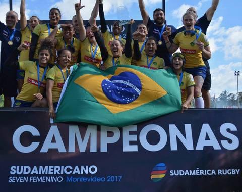 Brasil vence o Sul-Americano de Sevens Feminino pela 13ª vez
