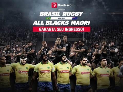 Brasil Rugby oferece gratuidade para crianças de até 12 anos em jogo contra os All Blacks Maori, no Morumbi dia 10/11